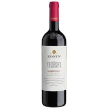 Zonin ღვინო წითელი კაბერნე 12,5% 750მლ