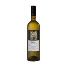 ივერია თეთრი მშრალი ღვინო მანავი 750 მლ
