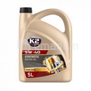 K2 ძრავის ზეთი K2 Turbo Diesel 5W-40 5 ლ (O34D0005)