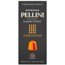 Pellini ყავის კაფსულა Espresso Pellini Luxury Coffee Armonioso in self-protected compostable Nespresso®* compatible capsules