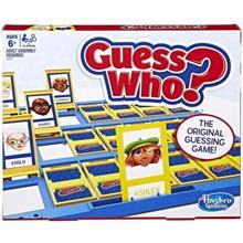 HASBRO სამაგიდო თამაში გამოიცანი ვინ ვარ GUESS WHO