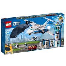 lego CITY საჰაერო პოლიცია-ავიაბაზა