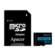 APACER AP64GMCSX10U7-R მეხსიერების ბარათი