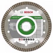 BOSCH ალმასის დისკი კერამიკისთვის Bosch Best for Ceramic Extraclean Turbo 125x22.23 მმ