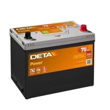 DETA  აკუმულატორი Power DB704 70Ah/540A 12V JIS