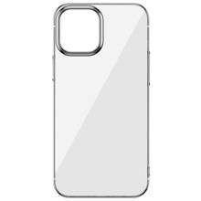 Baseus Glitter Phone Case For iPhone 12 Mini Silver ქეისი