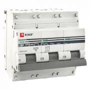 EKF ავტომატური ამომრთველი EKF 3P 100A