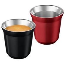 NESPRESSO Pixie Espresso Ristretto & Decaffeinato ჭიქის ნაკრები