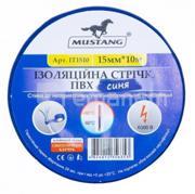 საიზოლაციო ლენტი Mustang IT1510B 26 მმ 10 მ ლურჯი
