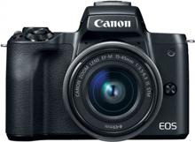 Canon EOS M50 Black + Lens 15-45mm ფოტოაპარატი