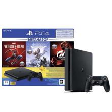 Sony Playstation Slim 1TB სათამაშო კონსოლი