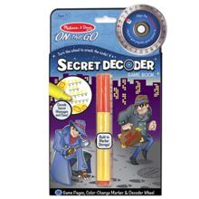 Melissa & Doug საიდუმლო დღიური ჯადოსნური მარკერით