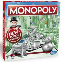 HASBRO სამაგიდო თამაში მონოპოლი Monopoly Classic GEO