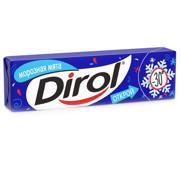 Dirol საღეჭი რეზინი Dirol თოვლიანი პიტნის არომატით