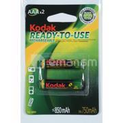 დასატენი ელემენტი Kodak AAA 850mAh 2 ცალი