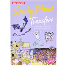 Scribble down ფურცელზე გადამყვანი სტიკერები Transferred Stickers Spooky Manor