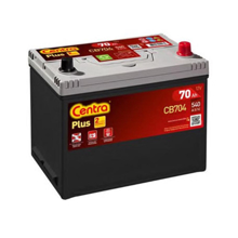 Centra აკუმულატორი Centra PLUS CB704 70 A/h JIS