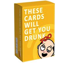 bgc სამაგიდო თამაში These Cards Will Get You Drunk Too