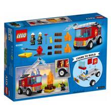 Lego CITY - Fire Ladder Truck კონსტრუქტორი