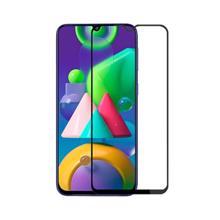 Glass Pro+ Full Screen Tempered Glass For Samsung M215 Galaxy M21 Black ეკრანის დამცავი