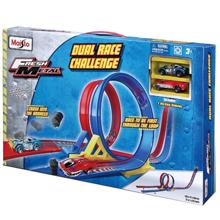 Maisto 12362 Dual Race Challenge სათამაშო ნაკრები ტრასა