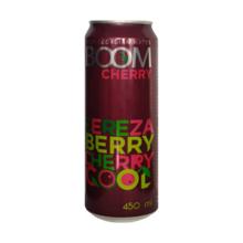 Boom ენერგეტიკული სასმელი ალუბლის არომატით 450 მლ