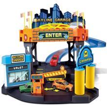 Bburago სათამაშო ტრასა 1/43 Street Fire Skyline Garage