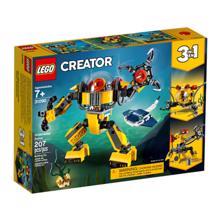 Lego ასაწყობი წყალქვეშა რობოტი