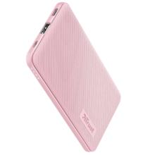 TRUST Primo Ultra-thin POWERBANK 5.000 Pink პორტატული დამტენი