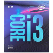Intel Core i3-9100F 3.60 GHz 65 W DDR4-2400 პროცესორი