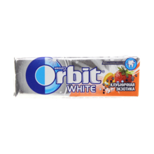 "Orbit საღეჭი რეზინი ""გარგარი და მარწყვი"" 10 გრ"