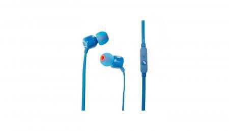 JBL ყურსასმენი JBL T110 In-Ear headphone blue