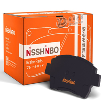 Nisshinbo წინა სამუხრუჭე ხუნდი  NP1015 Toyota camry 2006+