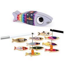 Janod ხის სამაგიდო თამაში მაგნიტური თევზები