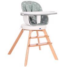 Lorelli ხის სკამი ნაპოლი 360° ბრუნვით 3/1 NAPOLI