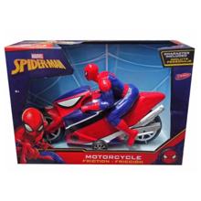 Yellow Marvel Spider Man მოტოციკლეტი