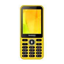 SIGMA MOBILE-X-Style 31 Power Yellow  მობილური ტელეფონი