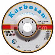 KARBOSAN სახეხი დისკი ლითონისთვის Karbosan 910570 180x6.4x22.23 მმ