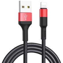 HOCO X26 USB to Lightning 1M მობილურის კაბელი