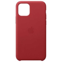 Apple Leather Case for iPhone 11 Pro (PRODUCT) RED ქეისი