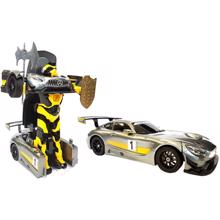 RASTAR სათამაშო მანქანა ტრანსფორმერი დისტანციური მართვით Mercedes-Benz GT3