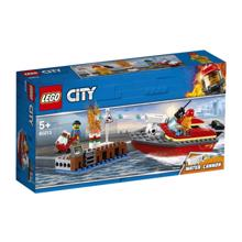 LEGO CITY-საზღვაო ცეცხლმაქრი