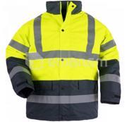 Coverguard ქურთუკი შუქამრეკლით Coverguard Roadway 7ROAY M ყვითელი/მუქი ლურჯი