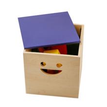 Mon Lou Lou სათამაშოების შესანახი ყუთი და სკამი