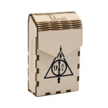 ხის ყუთი Sign of the Deathly Hallows | Harry Potter