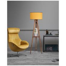 Cozy Home ტორშერი ხის თაროთი LUN-2180