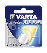 Varta ელემენტი ლითიუმის VARTA CR1632 3V 140 mAh 1 ც