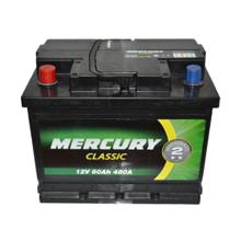 Megatex აკუმულატორი Mercury Classic 60 Ah DIN