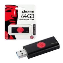 KINGSTON DT106/64GB DataTraveler USB 3.0 ფლეშ მეხსიერება