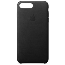 Apple Leather Case for iPhone 8/7 Plus Black ქეისი